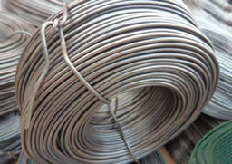 11 gauge galvanized wire for binding of solid waste