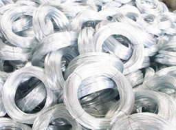 White Iron Wire, Oiled, Coiled, Baling Wire