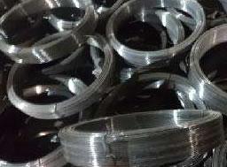 Oil Painted Black Iron Wire, Non Galvanized Industrial Tie Wire